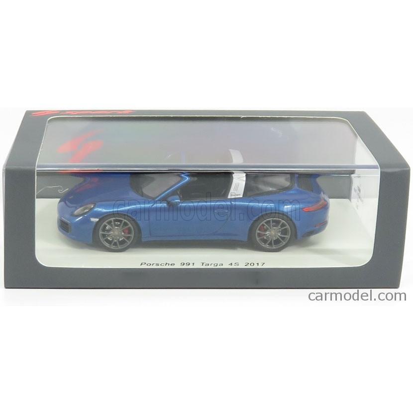 Porsche 911 991 Targa 4S 2017 Blue SPARK 1:43 S4977