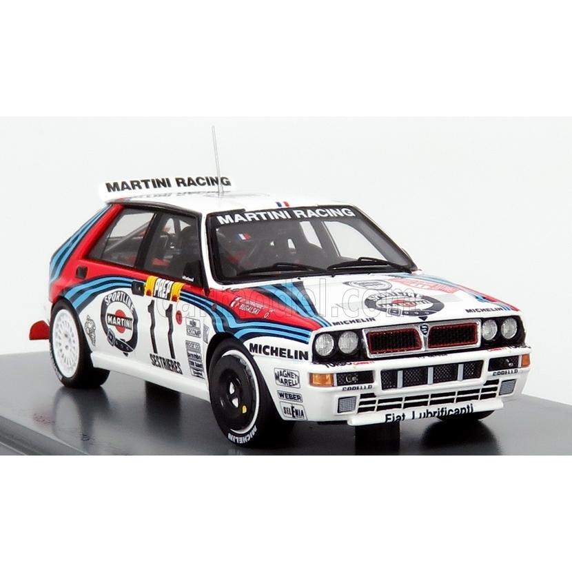 Spark 1:43 Lancia Delta HF Integrale Rallye Monte Carlo 1992 Bugalski//Giraudet