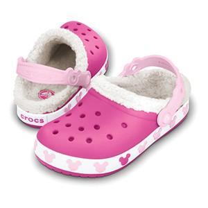 クロックス クロックバンド マンモス キッズ ミッキー crocs crocband mammoth kids mickey/ボア ファー 冬物 子供靴 ディズニー/在庫処分 店頭戻り品 a-outlet 02