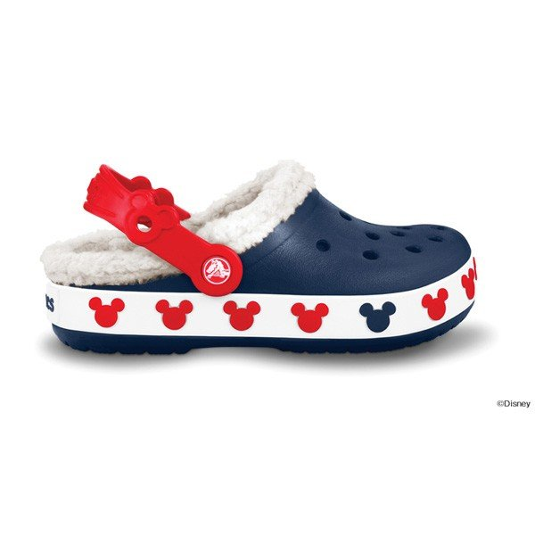 クロックス クロックバンド マンモス キッズ ミッキー crocs crocband mammoth kids mickey/ボア ファー 冬物 子供靴 ディズニー/在庫処分 店頭戻り品 a-outlet 05