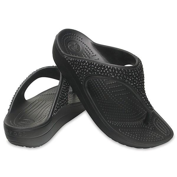 クロックス スローン エンベリッシュド フリップ ウィメン crocs sloane embellished flip w/在庫処分 店頭戻り品|a-outlet|02