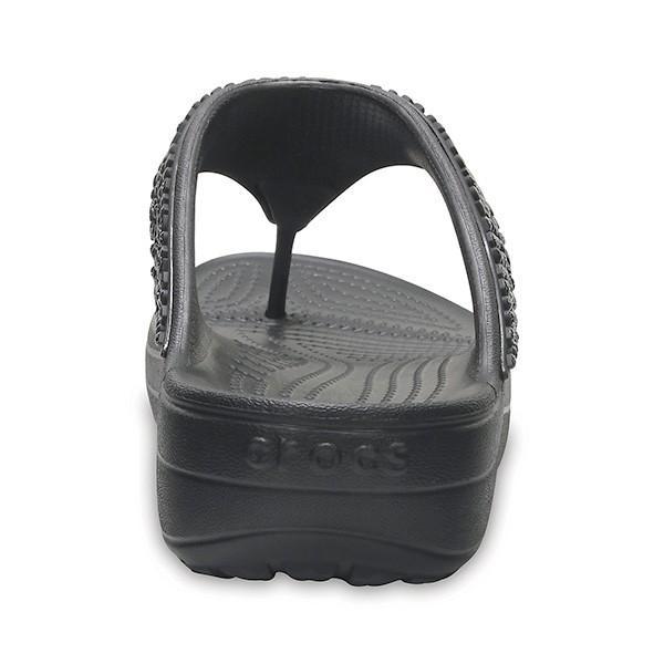 クロックス スローン エンベリッシュド フリップ ウィメン crocs sloane embellished flip w/在庫処分 店頭戻り品|a-outlet|06