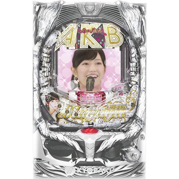 京楽 CRぱちんこAKB48 バラの儀式 Sweet まゆゆ Version『バリューセット3』[パチンコ実機][A-コントローラーPlus+循環加工/家庭用電源/音量調整/ドアキー/取扱