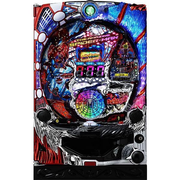 七匠 CRアメイジング・スパイダーマン 『バリューセット2』[パチンコ実機][オートコントローラータイプ2(演出観賞特化型コントローラー)+循環加工/家庭用電源/音