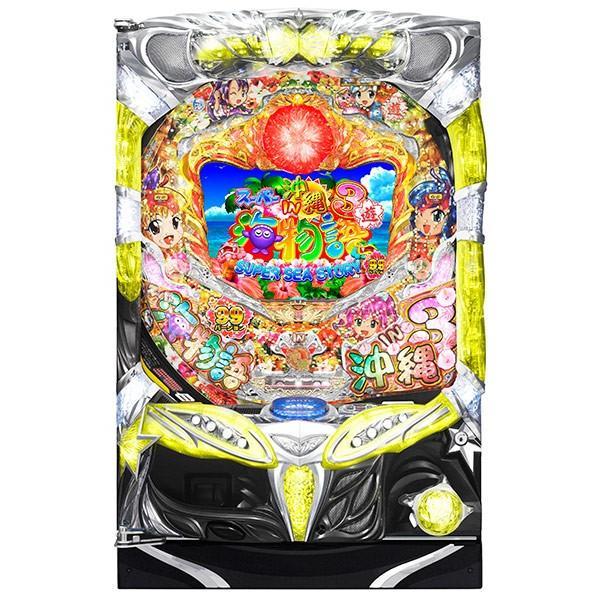 SANYO CRAスーパー海物語 IN 沖縄3 ASB『バリューセット3』[パチンコ実機][A-コントローラーPlus+循環リフター加工/家庭用電源/音量調整/ドアキー/取扱い説明書