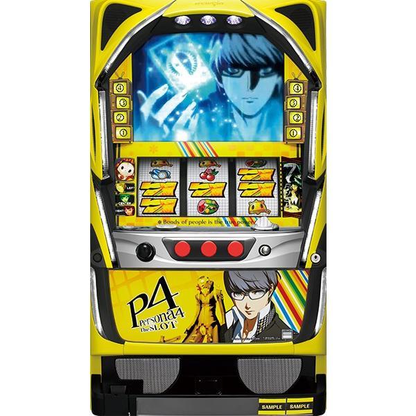 ニューギン Persona4 The SLOT (ペルソナ4)『コイン不要機ゴールドセット』[パチスロ実機/スロット 実機][コイン不要機ゴールド(コイン/コインレス/オートモード
