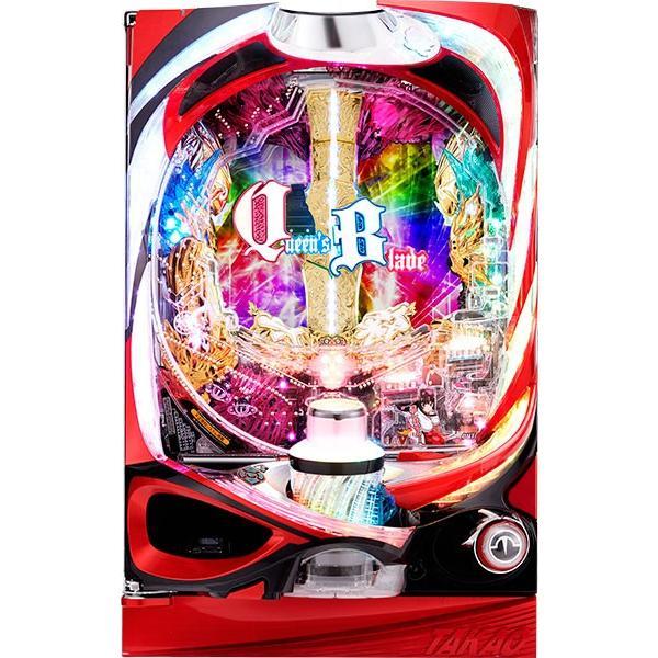 高尾 CRクイーンズブレイド2 レイナ 『循環加工セット』[パチンコ実機][裏玉循環加工/家庭用電源/音量調整/ドアキー/取扱い説明書付き〕[中古]