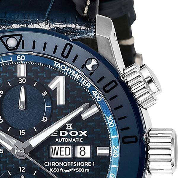 エドックス EDOX  クロノオフショア1 クロノグラフ 01122-3BU3-BUIN3-L 機械式(自動巻き)腕時計|a-spiral|02
