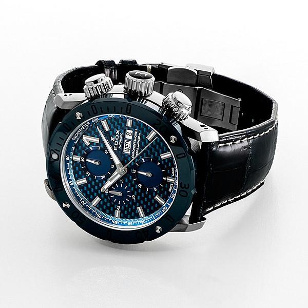 エドックス EDOX  クロノオフショア1 クロノグラフ 01122-3BU3-BUIN3-L 機械式(自動巻き)腕時計|a-spiral|03