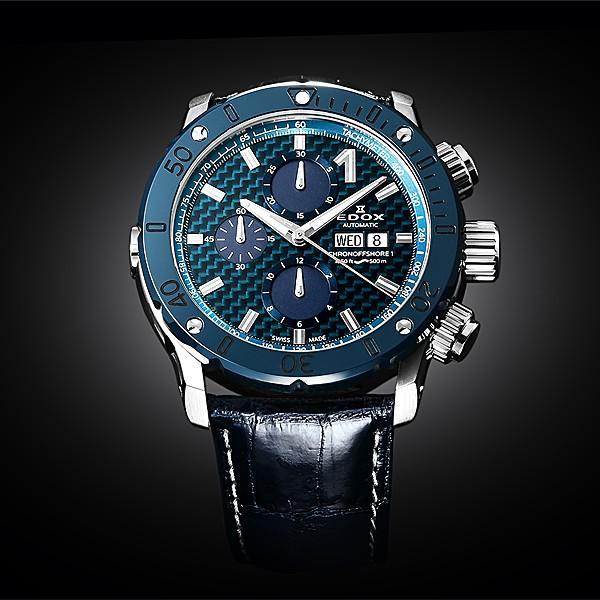 エドックス EDOX  クロノオフショア1 クロノグラフ 01122-3BU3-BUIN3-L 機械式(自動巻き)腕時計|a-spiral|04