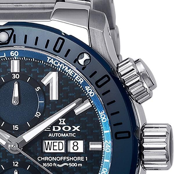 エドックス EDOX  クロノオフショア1 クロノグラフ 01122-3BU3-BUIN3 機械式(自動巻き)腕時計|a-spiral|02
