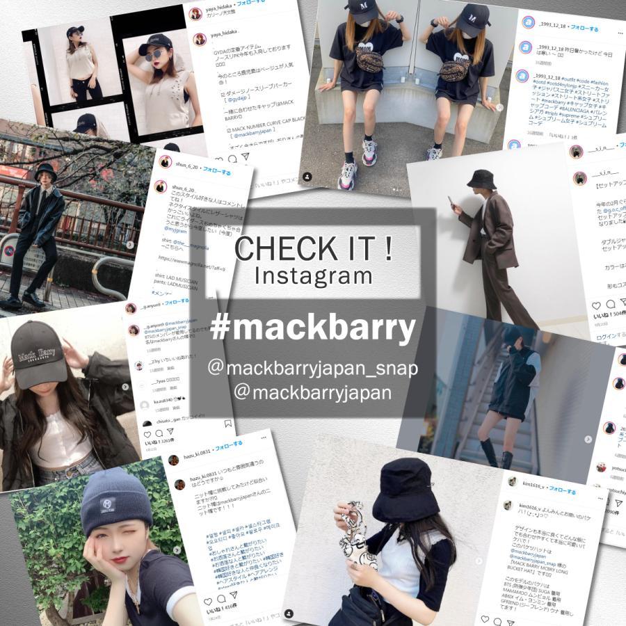 BTS着用 MACK BARRY マクバリー 国内正規品 ハット バケットハット 帽子 メンズ レディース 韓国 シンプル おしゃれ 黒 白 ベージュ ブラック ホワイト|a-stylecoltd|13