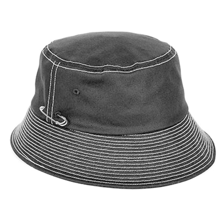 BTS着用 MACK BARRY マクバリー 国内正規品 ハット バケットハット 帽子 メンズ レディース 韓国 シンプル おしゃれ 黒 白 ベージュ ブラック ホワイト|a-stylecoltd|07