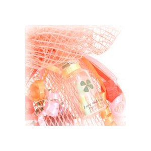 【オプション】 メッセージボトル 四つ葉の押し花のミニボトル  【別途購入されて花ギフトに付随した商品です。オプション商品】|a4s|03