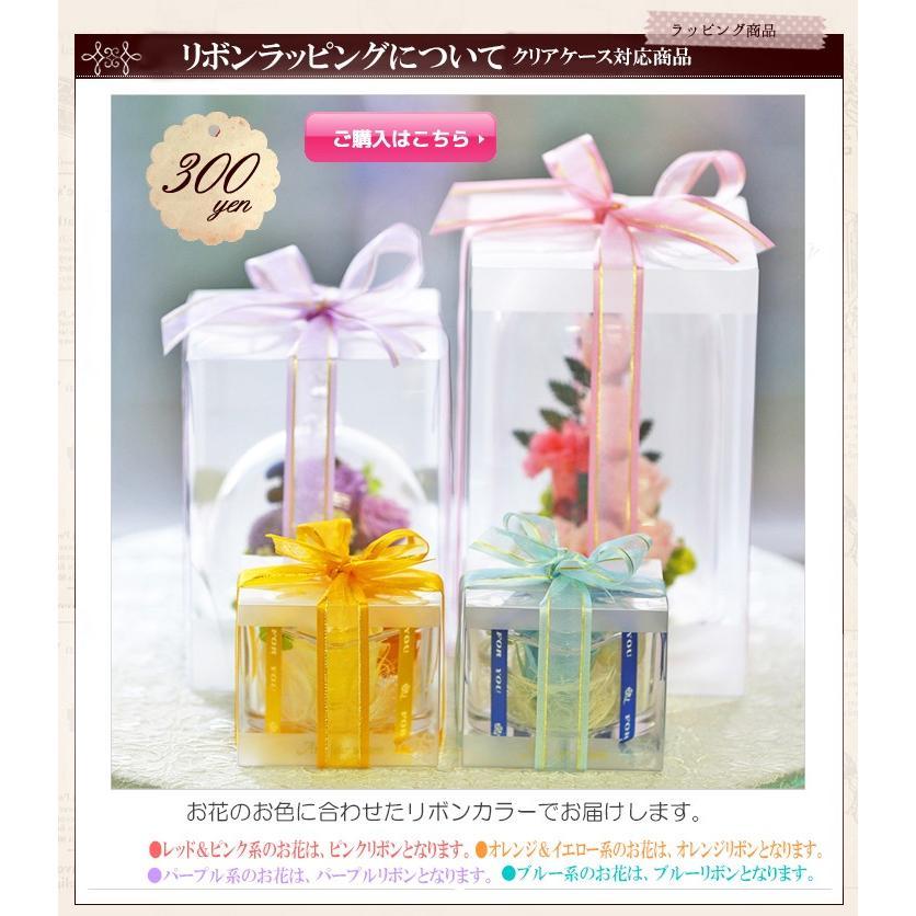【オプション】リボン掛け ラッピング  花ギフトに付随した商品です。オプション商品 クリアケース対応商品|a4s