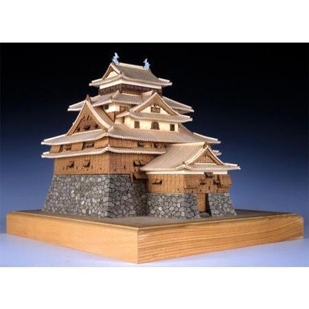ウッディジョー/木製建築模型 1/150松江城