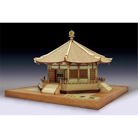 完成品<木製模型> 法隆寺・夢殿(1/150)
