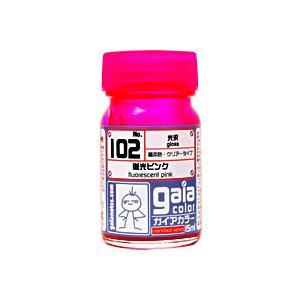 ガイアノーツ セール特別価格 ガイアカラー 特価品コーナー☆ 102 15ml 蛍光ピンク