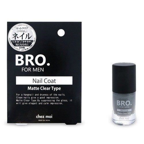 BRO. ストアー FOR MEN マットクリア 新色追加 ネイルコート