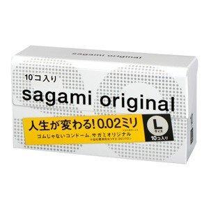 コンドーム サガミオリジナル 002 日本 10個入 Lサイズ 新作製品、世界最高品質人気!