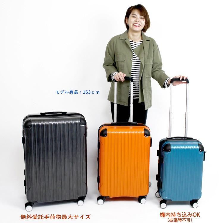 スーツケース 機内持ち込み Sサイズ 小型 軽量 拡張 ジッパータイプ ファスナータイプ 双輪 1年保証 siffler シフレ serio B5851T-S aaminano 11