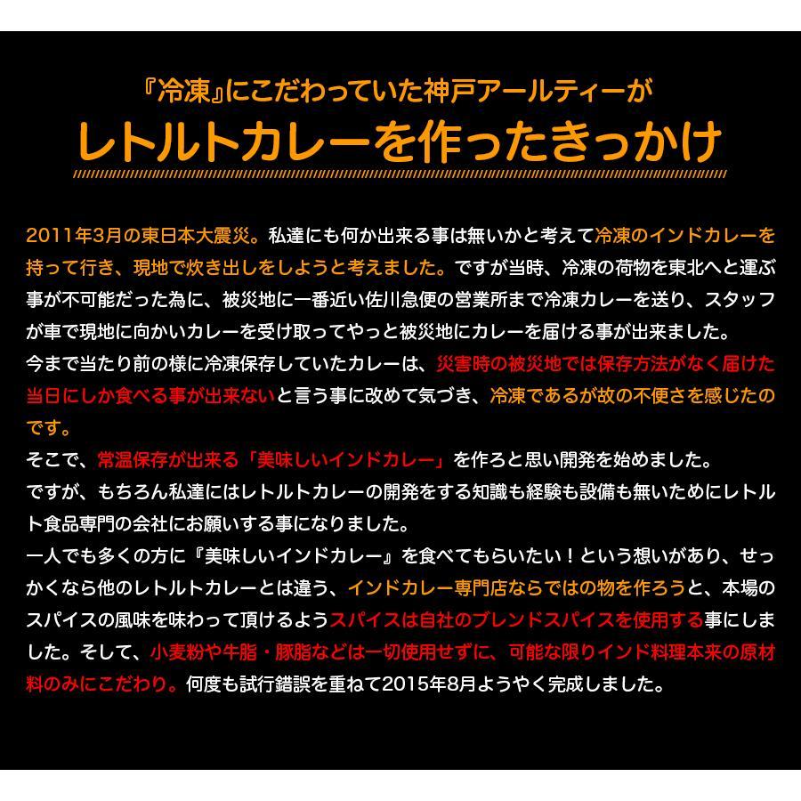 カレー 選べる 3食セット レトルトカレー インドカレー 神戸アールティー セール グルメ 送料無料|aarti-japan|10