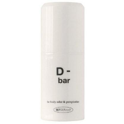 医薬部外品 ディーバー D-bar 15g ミョウバンパワーでデオドラント 腋汗スティック わきが わきの下 腋の下 ワキの下 ネコポス発送 デオドラントスティック 5%OFF 高品質