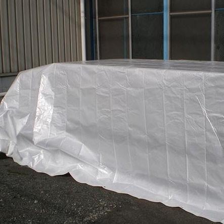 萩原工業 遮熱シート スノーテックス・スーパークール 約1.8×2.7m 14枚入※代引・同梱不可
