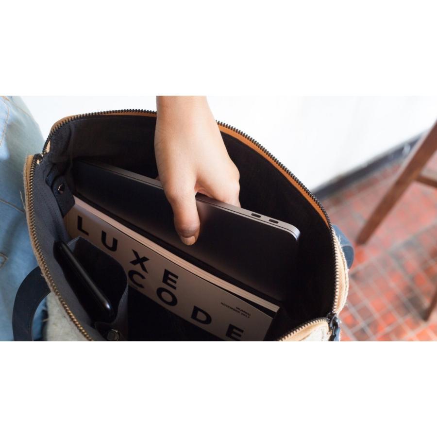 トートバッグ コルク&ヘンプ製  ヴィーガン 一年保証|aasha-shop|08