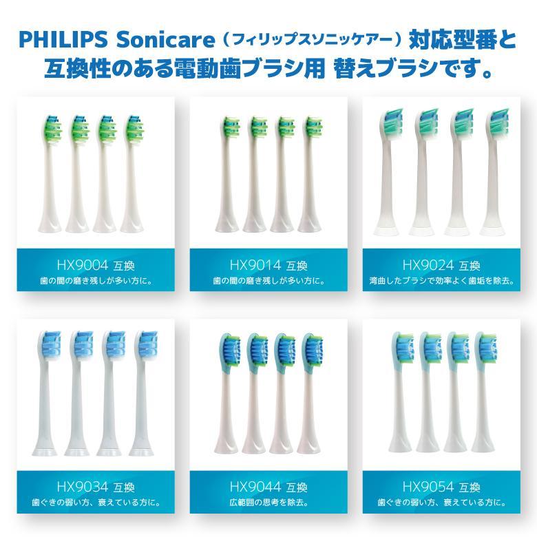 ブラウン オーラルB・フィリップス ソニッケアー 電動歯ブラシ対応 互換替え ブラシヘッド 自由に選べる 2パック 福袋 よりどり|aashop|03