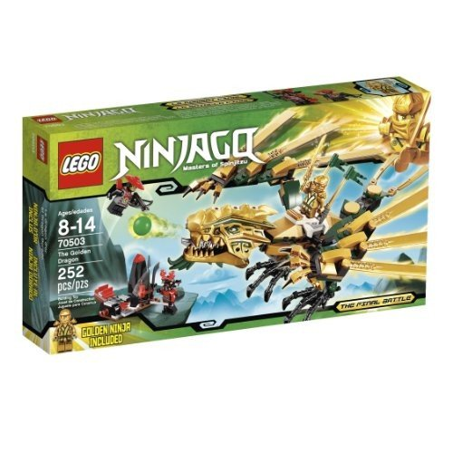6024738 LEGO Ninjago The ゴールドen Dragon 70503 (Discontinued by manufacturer)