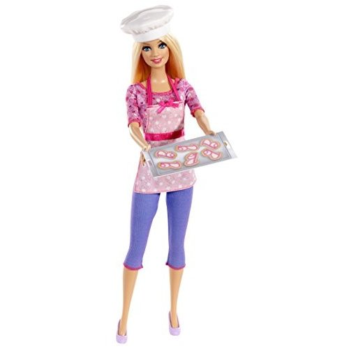 BDT28 Barbie Careers Cookie Chef Fashion Doll
