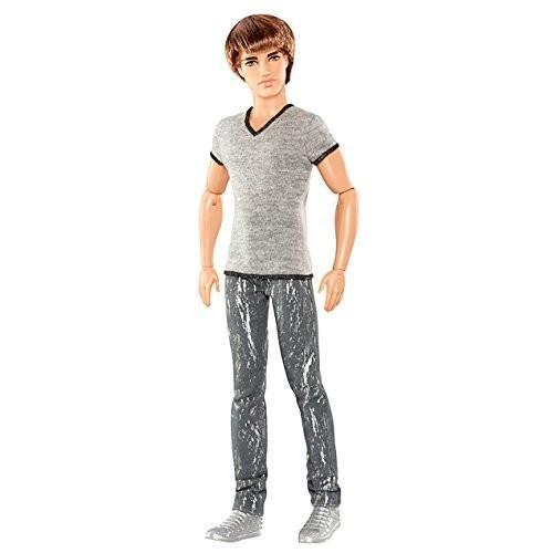 バービーBarbie Fashionistas Ryan Doll with グレー Jeans and Shirt