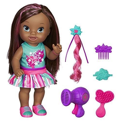 ベビーアライブBaby Alive Play 'n Style Christina Doll (African American)