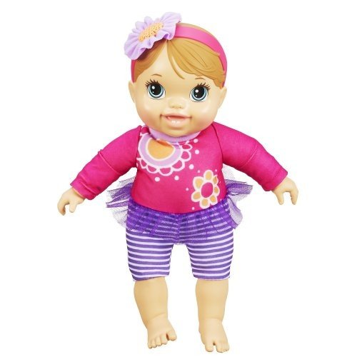 A5977 Baby Alive Plays and Giggles Blonde Baby Doll