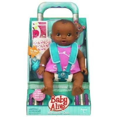 19227 Baby Alive Whoopsie Doo - African American