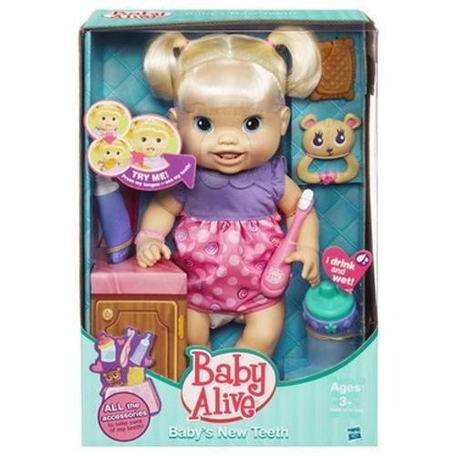 ベビーアライブBaby Alive Baby's New Teeth - Blond