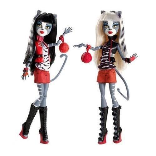 モンスターハイMonster High Werecat Twin Sisters - Meowlody and Purrsephone