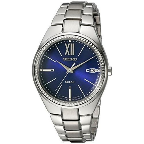 【超特価】 SNE879 Seiko Women's SNE879 RECRAFT Solar Analog Display Japanese Quartz Silver Watch, 東加茂郡 7ea34557