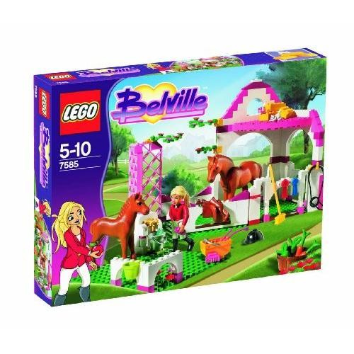 レゴBelville Set #7585 Horse Stable