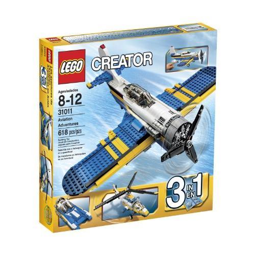 6024518 LEGO Creator 31011 Aviation Adventure, 618 pcs.