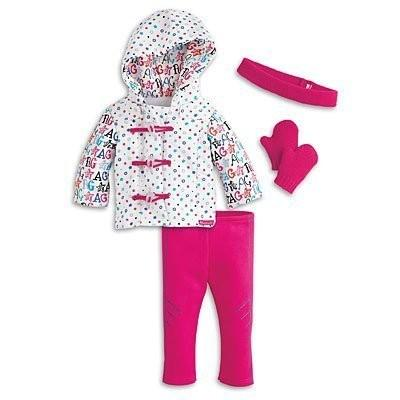 American Girl - Hit the Slopes Outfit plus Charm for Dolls - MY AG 2014