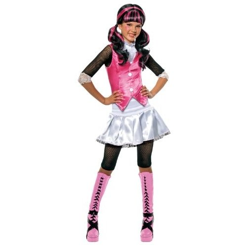 884787-Large Large Monster High Draculaura Costume - As Shown - Large