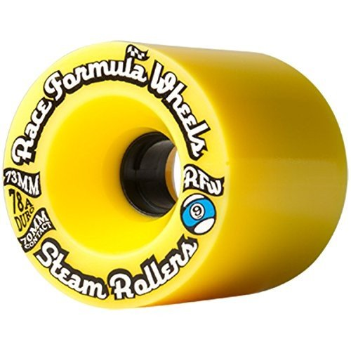 ONE Sector 9 Steam Roller 73Mm 78A Set Of 4 黄