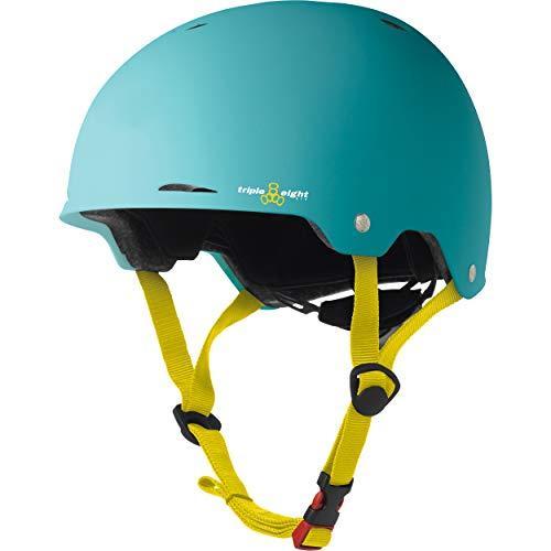 3316 X-Small/Small Triple Eight Gotham Dual Certified Skateboard and Bike Helmet, Baja Matte, X-Small/Small