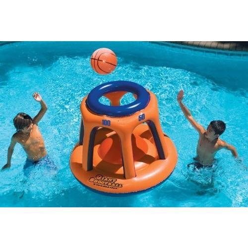 プールSwimline Giant Shootball Basketball Swimming Pool Game Toy