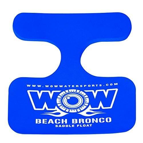 フロートWOW World of Watersports, 14-2130 Beach Bronco Floating Pool Seat, Saddle Float, 青