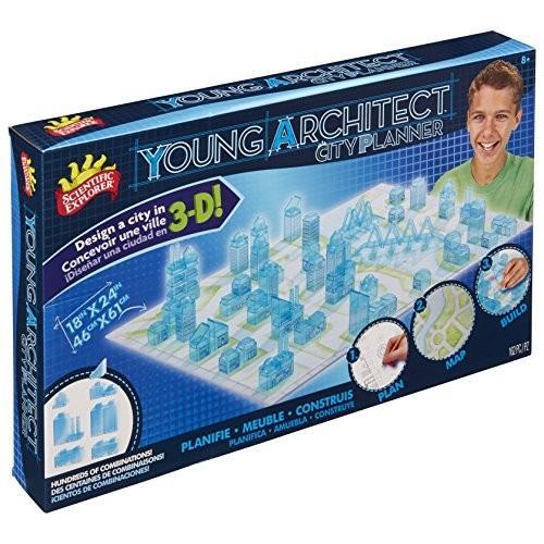 サイエンティフィックエクスプローラーScientific Explorer Young Architect City Planner Set