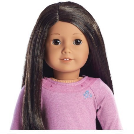 アメリカンガールドールAmerican Girl Truly Me Doll: Medium Skin, Textu赤 Dark 褐色 Hair, 褐色 Eyes - Doll #42