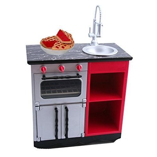 アメリカンガールドールAmerican Girl Grace French Bakery Kitchen Oven Sink for 18